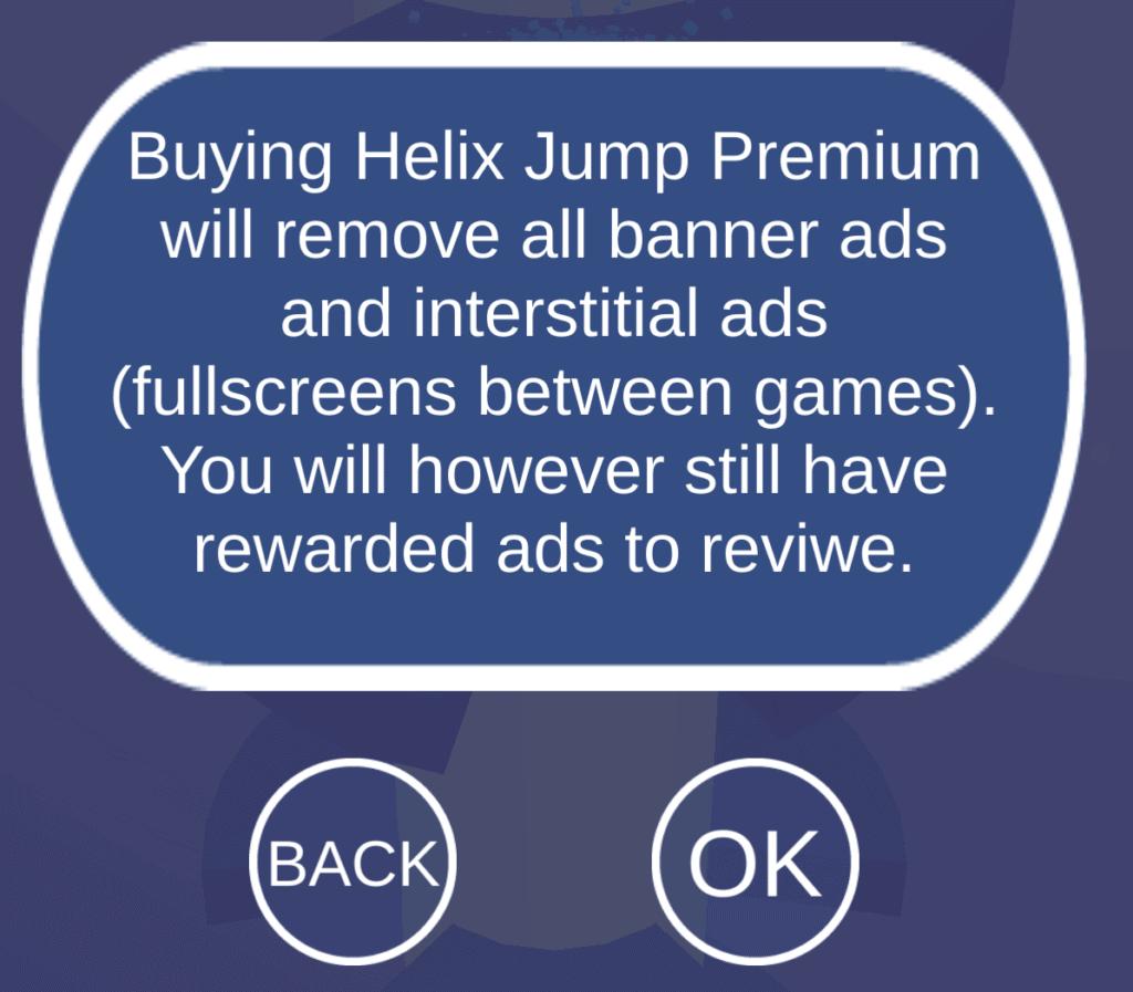 Helix Jump Premium Information
