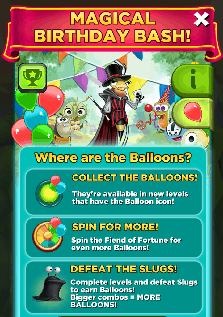 The Magical Birthday Bash event