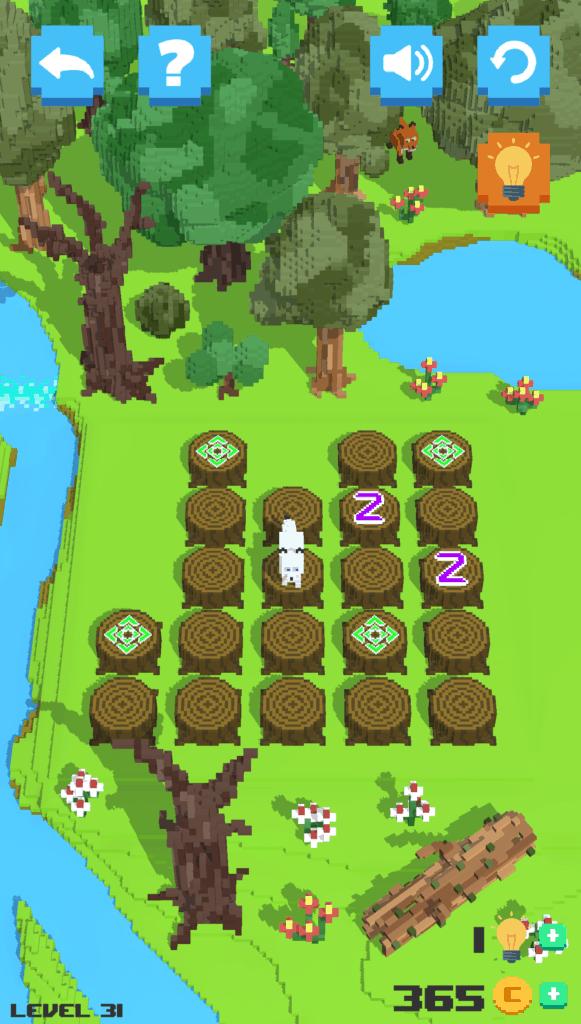 A screensot of Tilebreaker level 31.