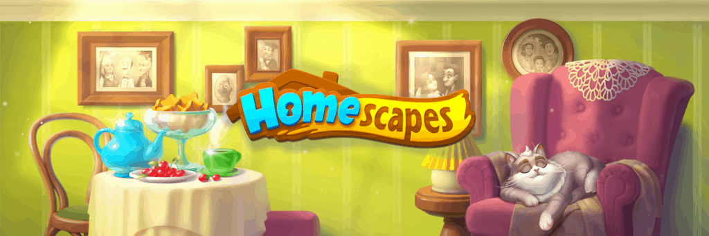 The Homescapes loading screen.