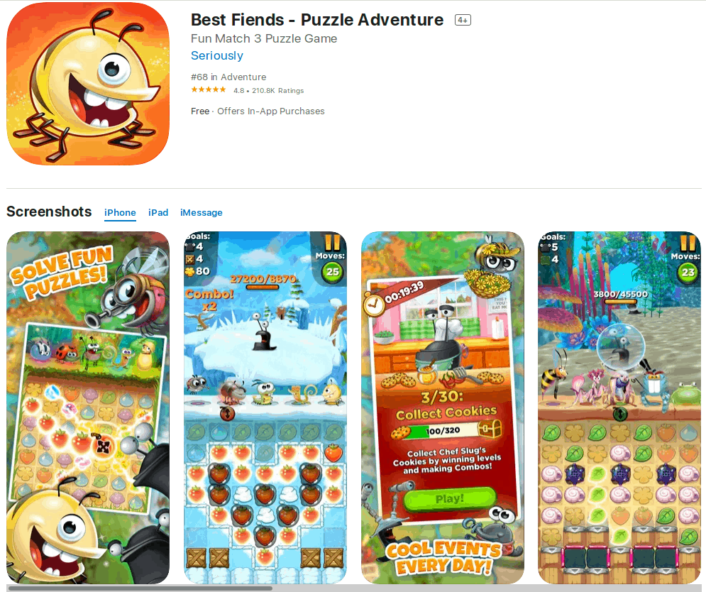 Best Fiends on the App Store.
