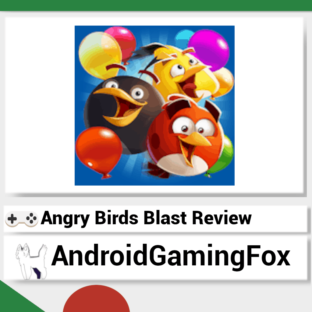 The Angry Birds Blast review featured image.