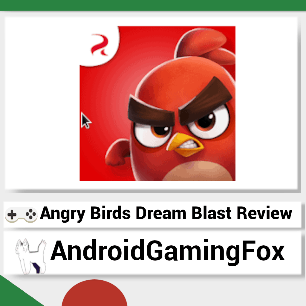 The Angry Birds Dream Blast review featured image.