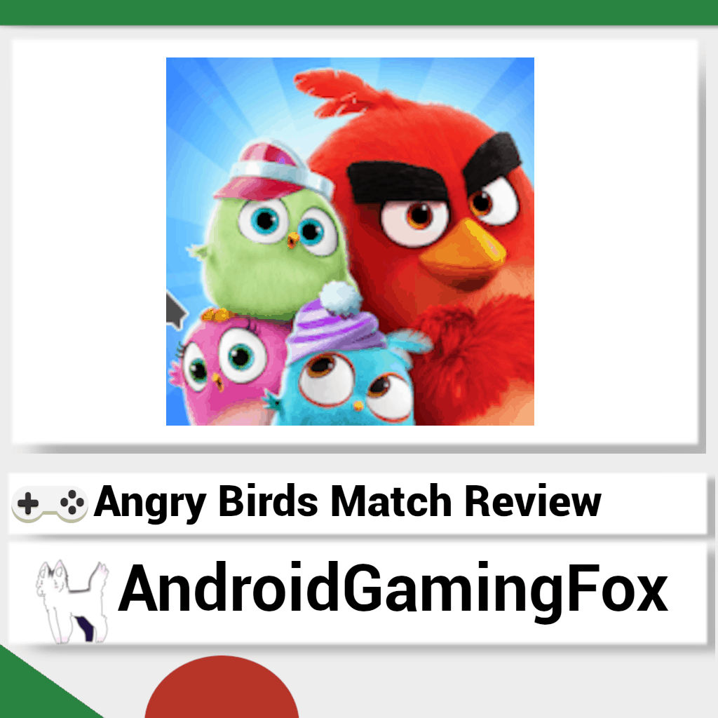 The Angry Birds Match review featured image.