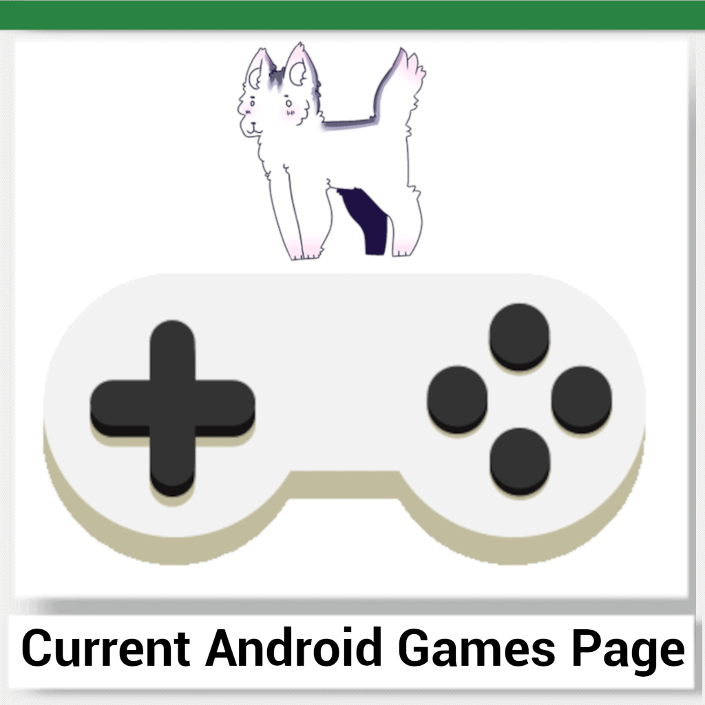 A giant video game console controller and the AndroidGamingFox mascot.