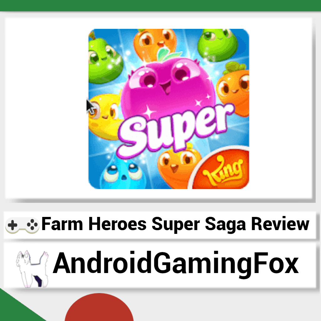 Farm Heroes Super Saga review featured image.