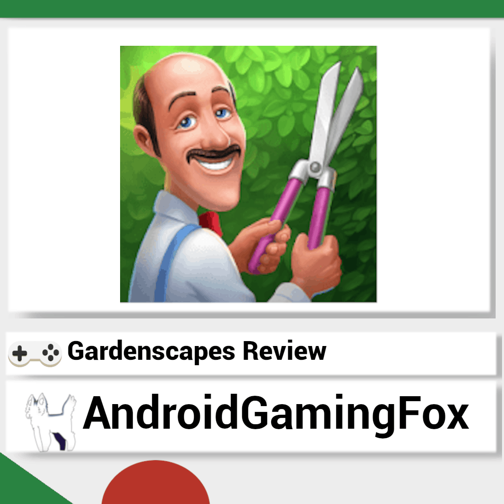 Gardenscapes review featured image.