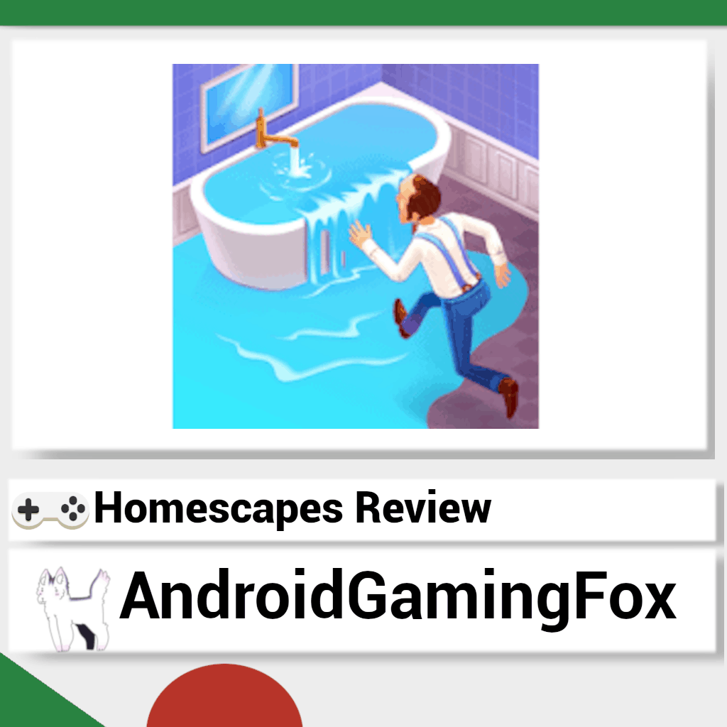 Homescapes review featured image.