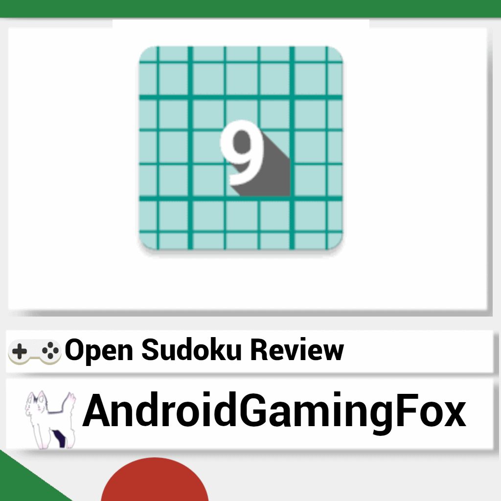 Open Sudoku review featured image.