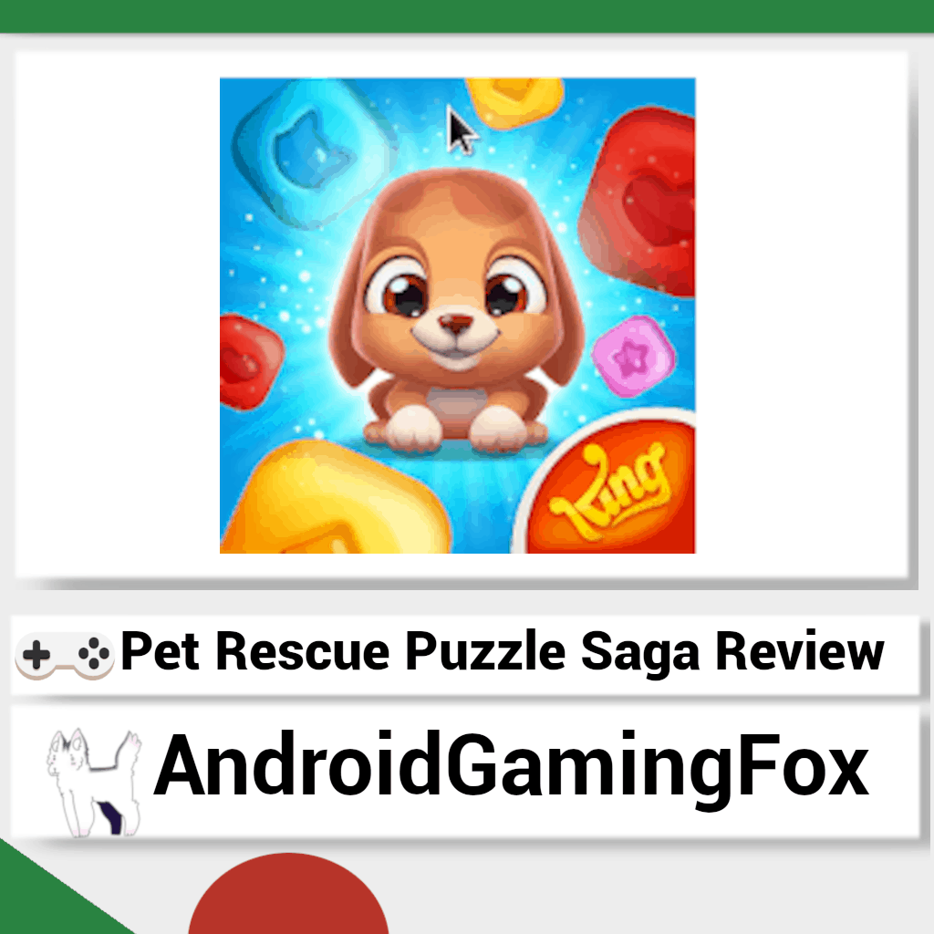 Pet Rescue Puzzle Saga review featured image.